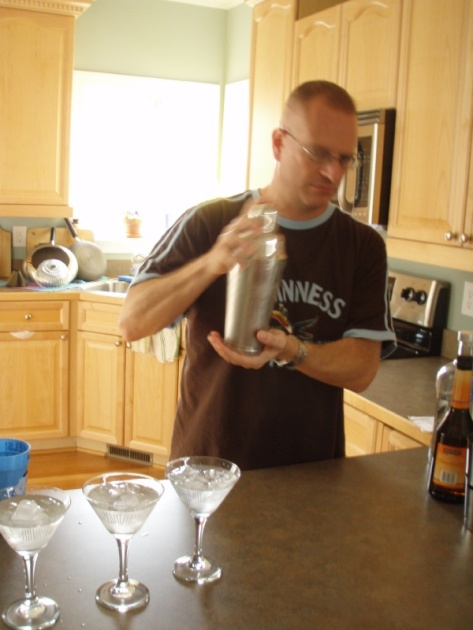 The Mixologist at work.