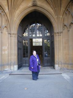 Entrance to the Palace of Westminster
