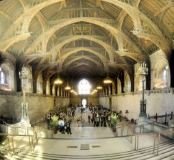 Westminster Hall is the only bit where they let you take pictures