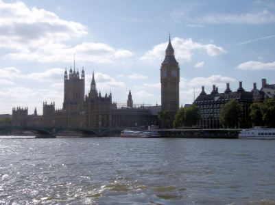 Visit to Houses of Parliament and river boat trip
