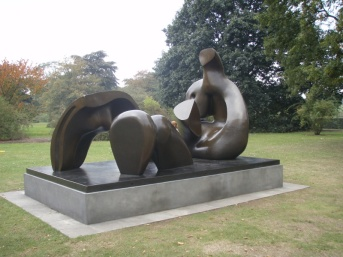 Three Piece Reclining Figure: Draped, 1975