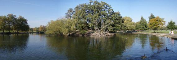 Clapham Common pond