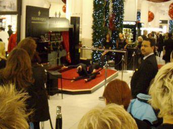 Floor show in Selfridges