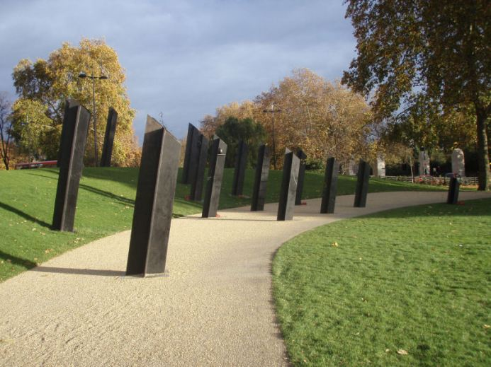 Kiwi war memorial @ Hyde Park Corner