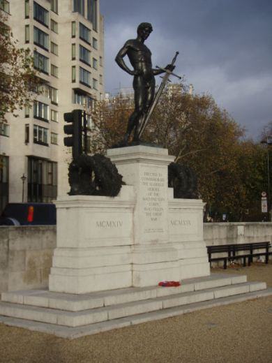 Machine Gun Corps memorial @ Hyde Park Corner
