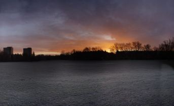 Frosty sunrise @ Pad Rec
