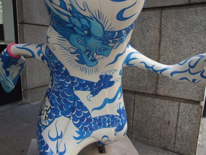 Pink 12 China Town M detail
