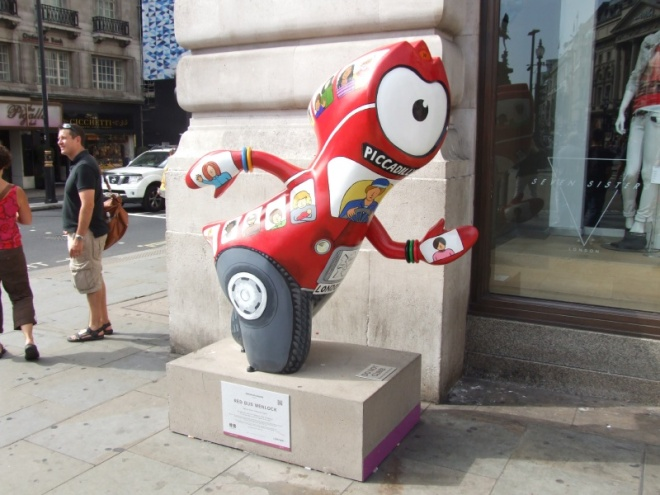 Red Bus Wenlock