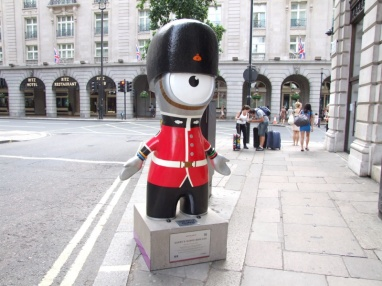 Queens Guard Wenlock