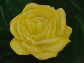 Rose (40x30cm acrylic May 2005)