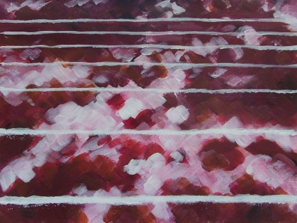 Running Track (40x30cm acrylic August 2005)