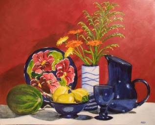 Still Life (50x40cm acrylic October 2008)