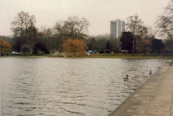 Hyde Park, The Serpentine