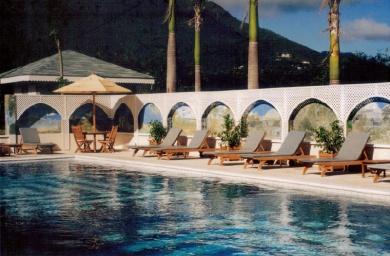 Posh resort