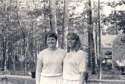 Michelle and her sister
