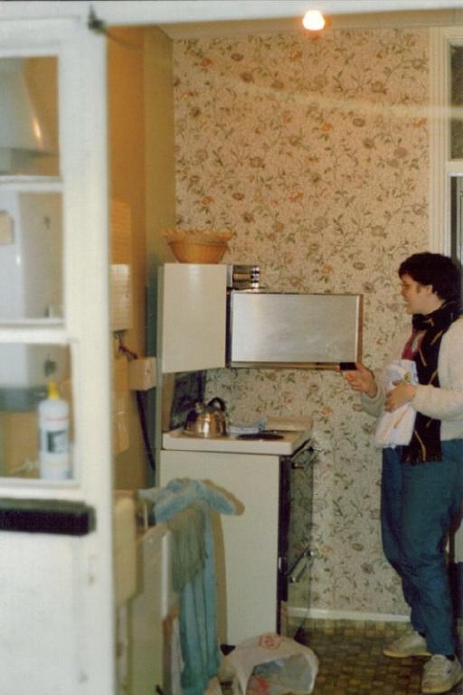 Michelle in Lewisham kitchen