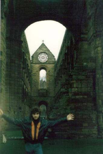Jedburgh Abbey, January 1988