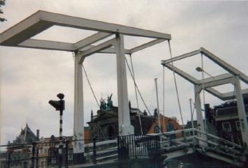 Bridge outside Teylers Museum