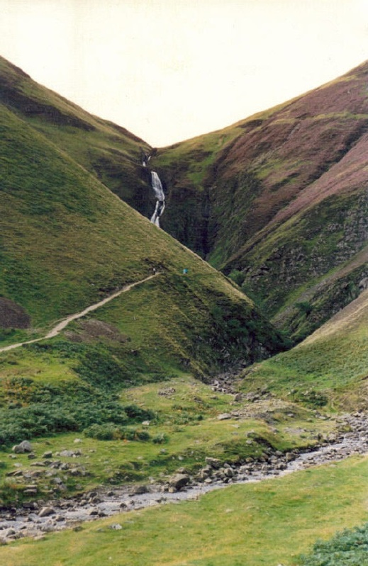 Grey Mare's Tail Aug 1988