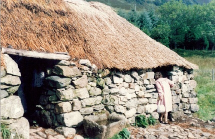 Old crofter's cottage