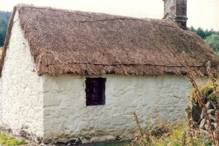 Old crofter's cottage