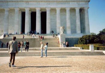 Lincoln Memorial, Andy, Jan & Shane