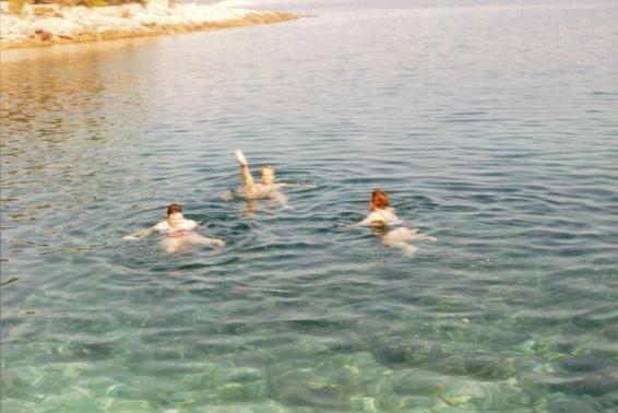 Dipping in the Med, Hvar