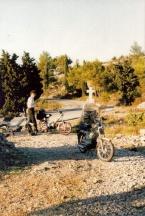 Andy 'Easy Rider' Hvar Yugoslavia 10/89