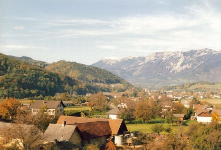 View from train - Austria