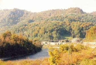 View from train - Yugoslavia!
