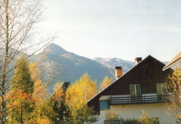 Our house & Our mountain in Bohinj, Yugoslavia