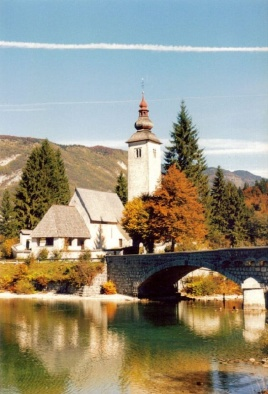 Church at Lake Bohinj