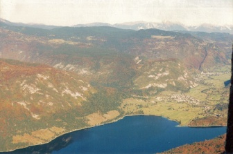 Lake Bohinj (from Mt. Vogel)