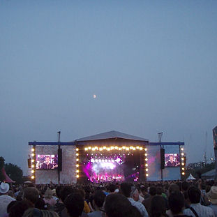 2009 - Blur in Hyde Park