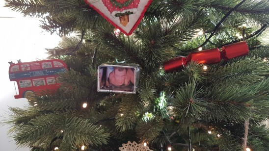 Die Hard christmas tree ornament
