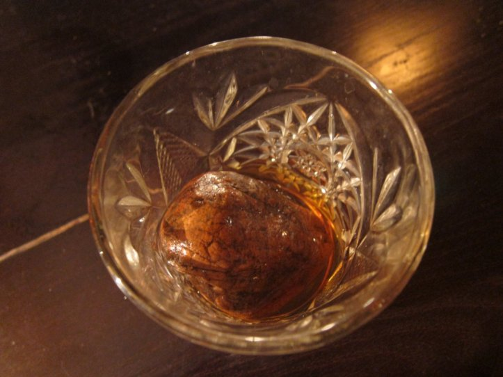 Scotch on the rocks!