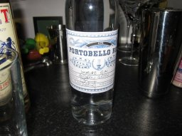 Unripe's own blend of gin