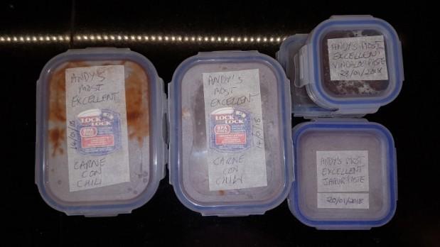 Andy's Most Excellent frozen foods
