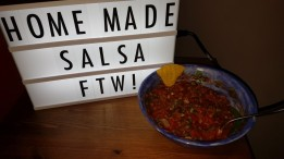 Home Made Salsa FTW!