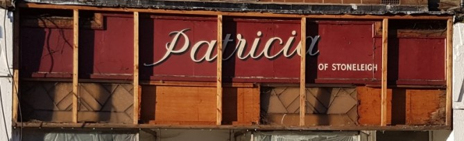 Old shop front uncovered