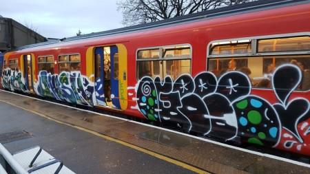 Tagged train
