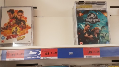Empty Mama Mia DVD cases missing from Sainsbury's