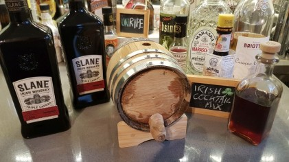 Barrel aged Irish cocktail