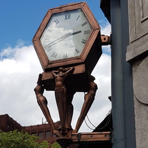 Clock at Cambridge Circus