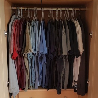 """How many t-shirts are too many? """"The limit does not exist!"""", says Alex"""