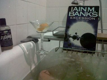 19 Bath time for the civilised gentleman