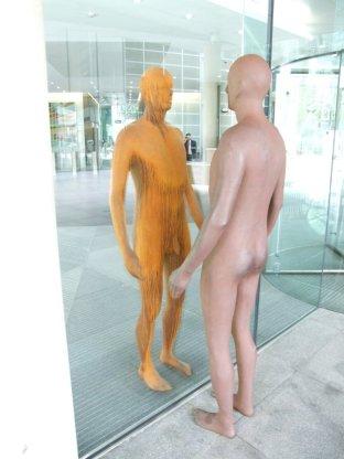 statue @ Regent's Place