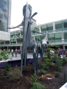 Pterosaurs on the South Bank