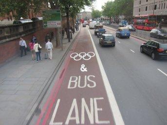 Olympic lane.