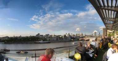 View from OXO building